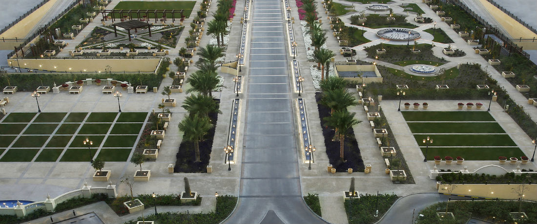 Habtoor Palace Gardens /Helipad (3 sections)